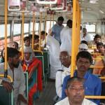tying rakhi to passengers rto prg