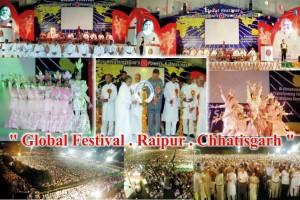 Global Festival . Raipur . Chhatisgarh