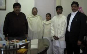 Brahma Kumaris Felicitate New BJP Chief Nitin Gadkari