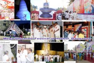 Mega Shivaratri Festival at Hebbal, Bangalore