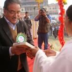 Brahmakumaris Meet Former PM of Nepal- 'Prachand' ji
