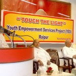 Touch the light Training at Shanti Sarovar, Raipur (Chhatisgarh)