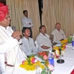 Press Club Of Abu Road - Pindwara Felicitate Brahmakumar Karuna ji
