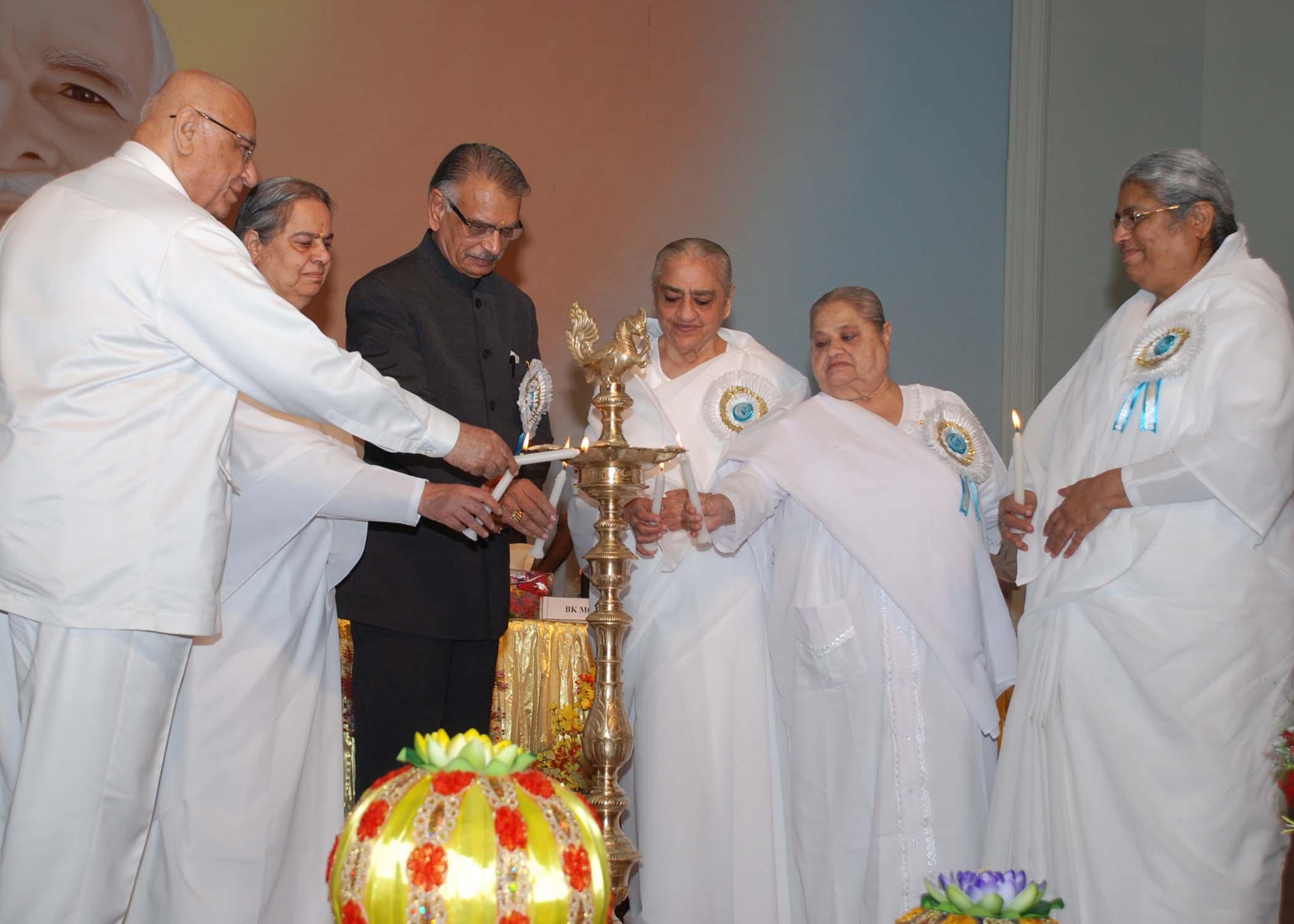 H.E.Shivraj Patil, Governor of Punjab Inaugurates 'One God, One World One Family' Programme at ORC, Delhi