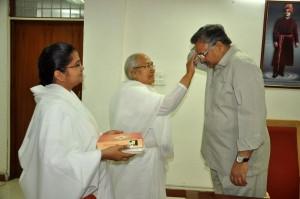 Brahmakumaris Celebrate Bhai Dooj Festival with Hon'ble Chief Minister of Chhattisgarh