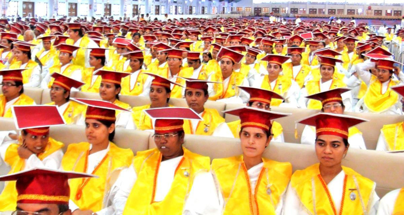 A Gala Graduation Day for a Degree with a Difference by Brahmakumaris