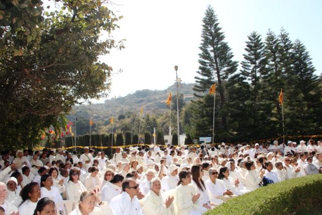 76th Maha Shivjayanti Celebrations at Brahmakumaris Gyan Sarovar.Mount Abu