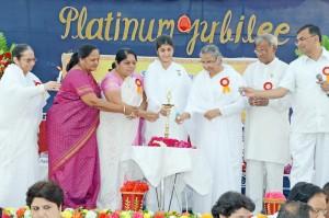 """Gujrat Chief Minister """"Narendra.Modi"""" Inaugurates Brahmakumaris """"Amrut Mahotsav-2012"""" In Ahmedabad"""