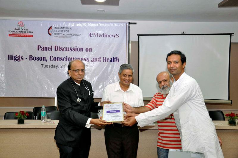 "Brahmakumaris Invited To Seminar On ""Higgs-Boson ,Consciousness & Health"""