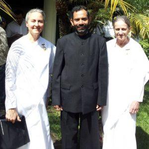 Ambassador of India-Guatemala, BK Anne, BK Elizabeth