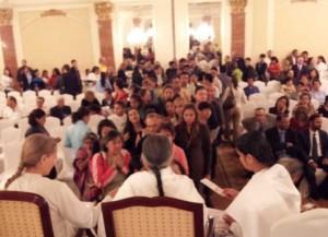 Sr Mohini in Public Event - Guatemala