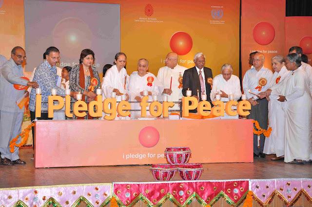 UN & Brahma Kumaris Launch All-India Peace Campaign Of I Pledge for Peace at New Delhi