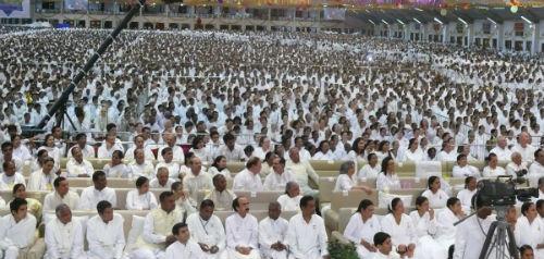 Madhya Pradesh Chief Minister Felicitated By Brahma Kumaris In Abu