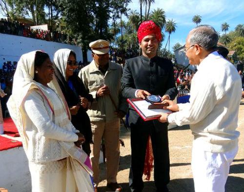 State Honors For B.K Dr. Pratap Bhai