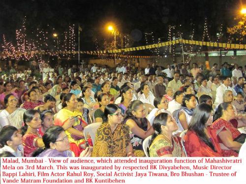 Mahashivratri Mahotsav Inauguration - Malad Mumbai