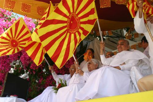Shiv Jayanti Festival 2013 At Brahma Kumaris HQ.Pandav Bhawan.Mount Abu