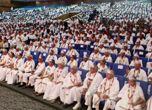 "Gujarat Chief Minister Narendra Modi Ji Inaugurates ""Sangam Tirth Dham"""