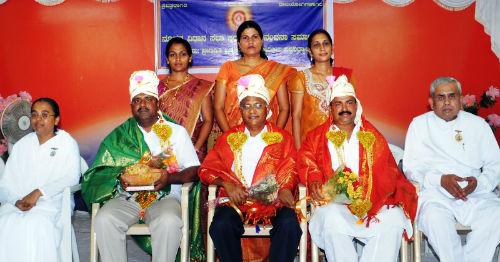 Brahmakumaris Felicitate Newly Elected MLA's at Mangalore