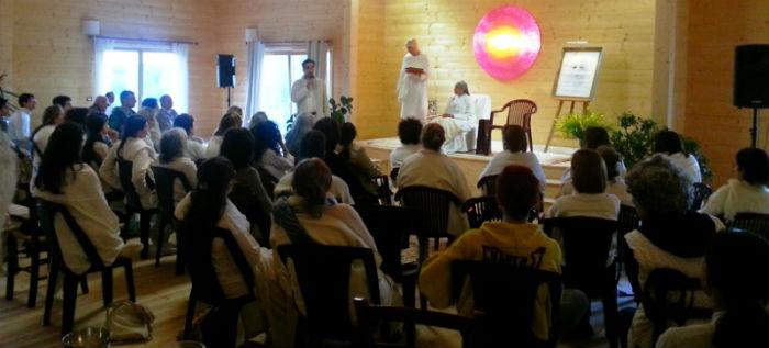 Casa Sangam 'Spazio Luce' Italy Inauguration with Sis. BK Jayanti