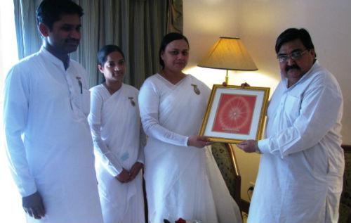 Brahmakumaris Meeting with Bro. Ashwani Kumar Chopra