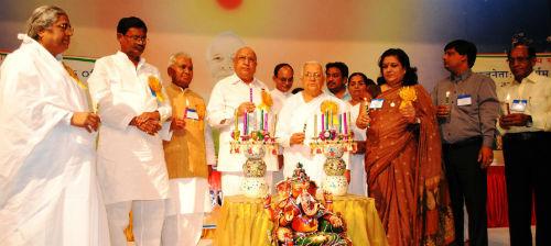 """Politicians' as Builders of Golden Bharat' Conference at Brahmakumaris Gyan Sarovar ( Mount Abu)"