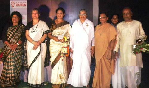 'Nirbhaya Samman' to Sister BK Pratima of Jagannath Puri