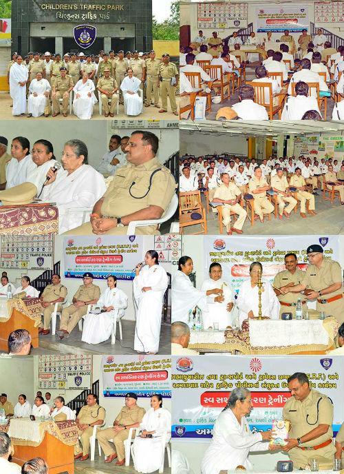 "Brahmakumaris Organizes ""Ahmedabad City Traffic Police Training Programme"""