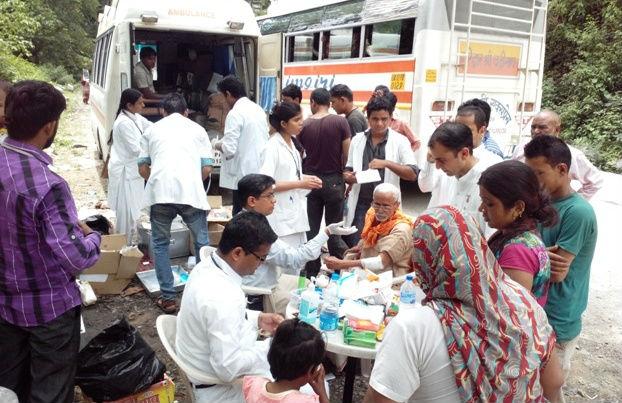 Brahmakumaris Uttarakhand Flood Relief Report from Global Hospital
