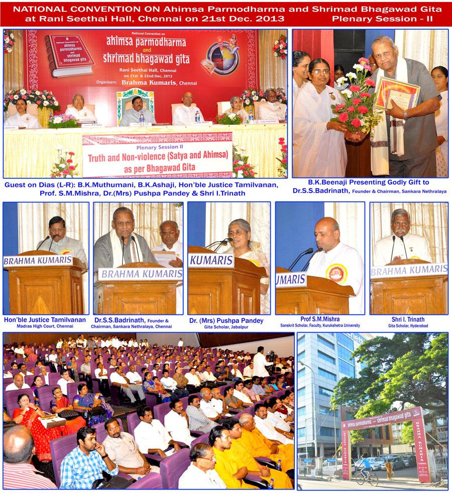 Ahmisa Parmodharmam Session II
