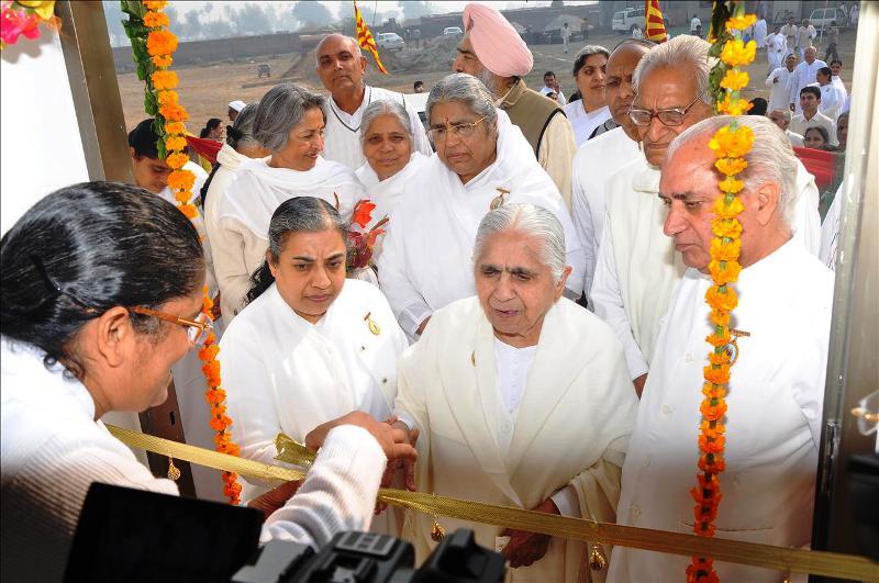 Dadi Janki , Chief of Brahmakumaris Inaugurates Sonepat Retreat Centre