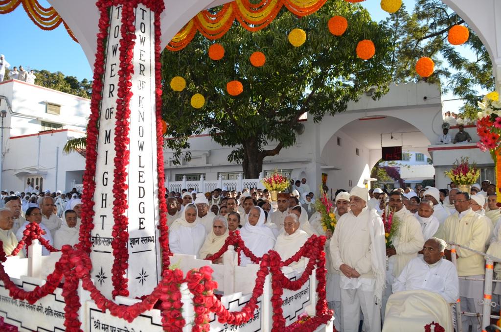 World Peace Day of Prajapita Brahma Baba at Mount Abu