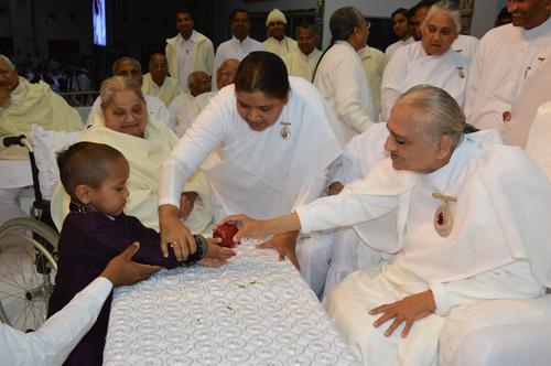 Kautilya Pandit  Visits Brahmakumaris Head Quarters