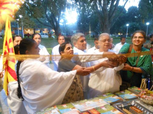 B K Padma-Inagurating Yogic