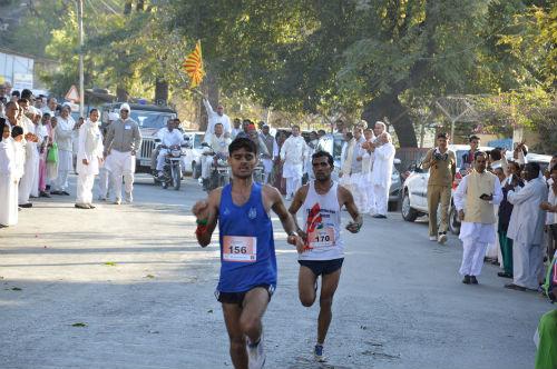 Abu International Trail Half Marathon (21 km) Organized By Brahmakumaris