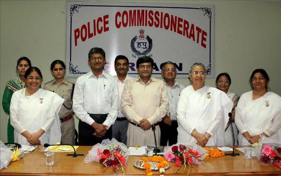 "Inauguration of ""Shakt Neev - Nari Suraksha, Hamari Suraksha"" At Police Commissioner HQs, Gurgaon"