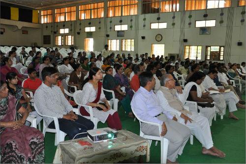 "11 days long Health Awareness Retreat ""Health in Your Hands"" Organized At Shantisarovar - Raipur"