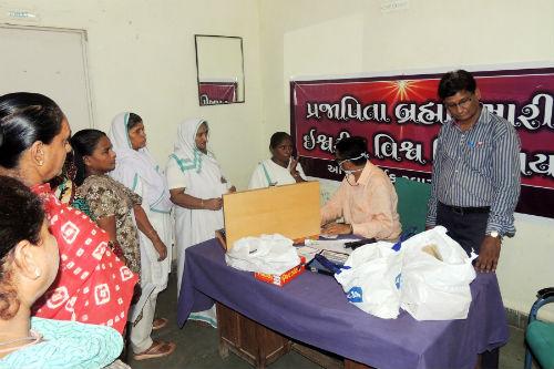Brahmakumaris Organized a Medical Camp at Sabarmati Central Jail, Ahmedabad