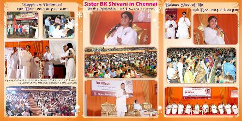 Sister BK Shivani's Programme at Chennai