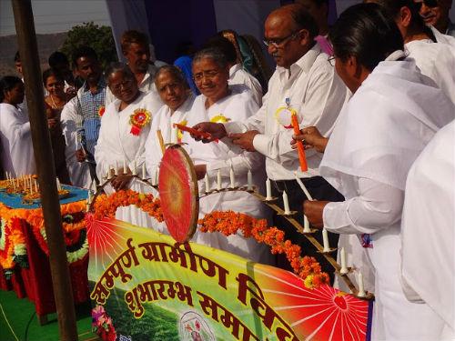 Mr. Babulal Verma, Transport Minister of Rajasthan Inaugurates Brahmakumaris Sampurn Gram Vikas Mela in Kota (Raj.)