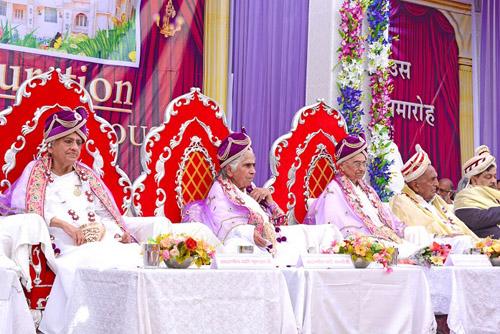 Inauguration of Diamond Lotus House in Ahmadabad