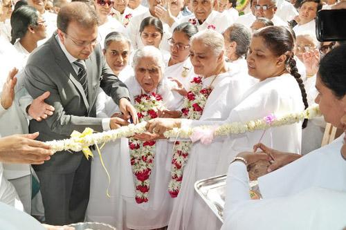 Inauguration of Diamond Lotus House