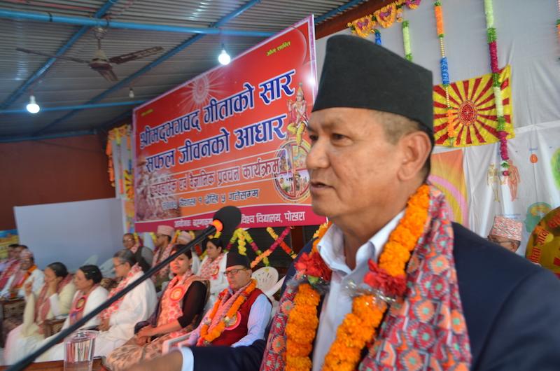 Brahmakumaris and Nepal Chief Minister